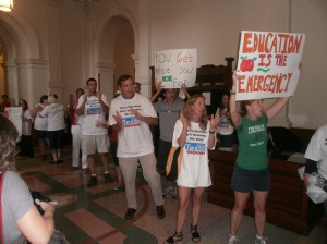 Rally in the Capitol, May 2011