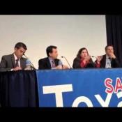 STS San Antonio Conf. Panel (Rep. Mike Villarreal, Rep. John Garza, Sen. Leticia Van de Putte, Moderator Jason Sabo