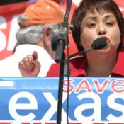 Rita Haeker (TSTA) at STS Rally 2012